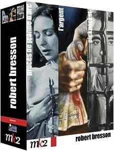 Robert Bresson - Coffret: L'argent + Pickpocket + Le procès de Jeanne d'Arc