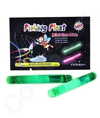 Fun Central G39 1.5 Inch Retail Packaged Glow in the Dark Sticks - Green