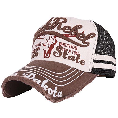 ililily-black-rebel-embroidery-mesh-back-pre-curved-snapback-hat-baseball-cap-ballcap-1019-4