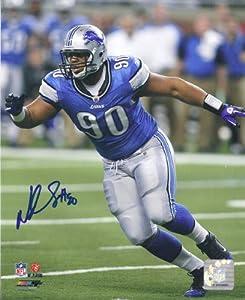 Ndamukong Suh Autographed Detroit Lions 8x10 Photo by DenverAutographs
