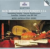 Bach, J.S.: Brandenburg Concertos Nos.4, 5 & 6; Overture No.4