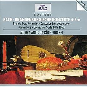 J.S. Bach: Brandenburg Concerto No.6 in B flat, BWV 1051 - 1. --