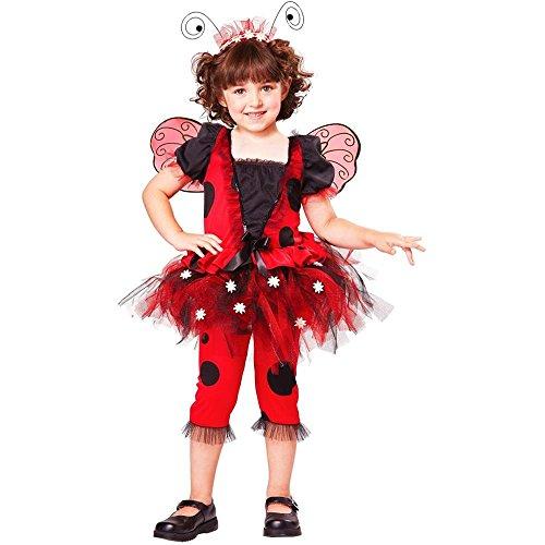 Lovely Ladybug Toddler Costume (Large 4-6) front-982427