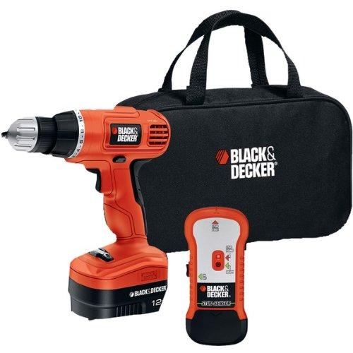"Black & Decker 12-Volt Cordless Drill & Stud Sensor Kit ""Product Type: Power Tools/Cordless Drill/ Driver Kit"""