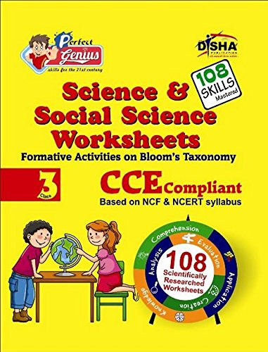 Perfect Genius Science & Social Science Worksheets for Class -  3: Based on Bloom's Taxonomy