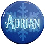 Henry The Buttonsmith Adrian Winter Ice Name Tag