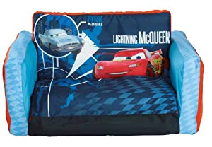 Disney Cars 2 Inflatable Flip Out Sofa by Pixar