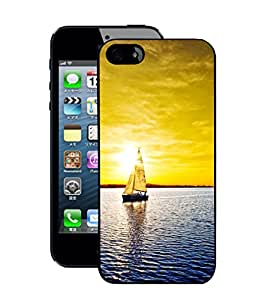 Crazymonk Premium Digital Printed Back Cover For Apple I Phone 5S