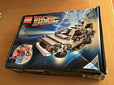 LEGO 21103 The DeLorean Time Machine Building Set by LEGO