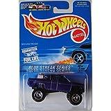 HOT WHEELS BLUE STREAK SERIES BLUE NISSAN TRUCK #574
