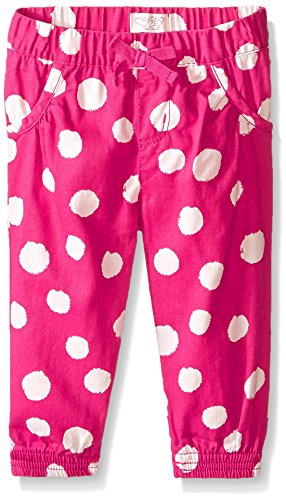 The Children's Place Baby-Girls Print Bow Pant, Watermelon, 18-24 Months