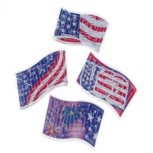 Patriotic Wave Puzzles (12 per package)