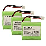 3 Packs FLOUREON® 4.8V 800mAh