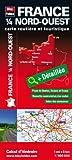 echange, troc Blay-Foldex - France 1/4 nord-ouest - Carte routière et touristique (échelle : 1/500 000)