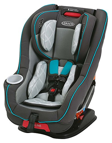 Graco Size4Me 65 Rapid Remove Convertible Car Seat, Finch
