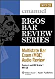 Multistate Bar Exam Audio Review: Contracts (MBE Audio Review)