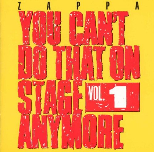 You Can't Do That on Stage Anymore, Vol. 1 artwork