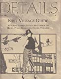 img - for DETAILS Magazine Vol. 3 No. 10, May 1985: East Village Guide book / textbook / text book