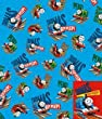 """Thomas the Tank Engine Gift Wrap, 2 sheets 2 tags"""