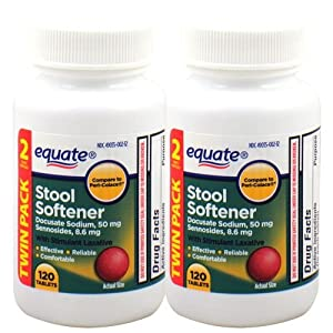 Amazon Com Equate Stool Softener With Stimulant