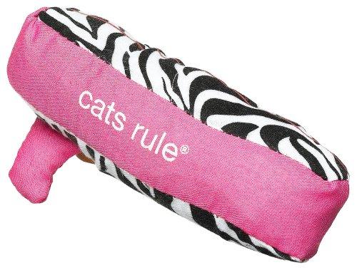 Cats Rule Catnip Toy – Surfs Up Zebra