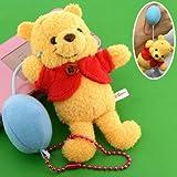 ディズニー★くまのプーさん名場面マスコットぬいぐるみボールチェーン携帯ストラップ(風船)【Winnie the Pooh】【DISNEY】
