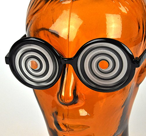 1 X Accoutrements Amazing Hypno Glasses