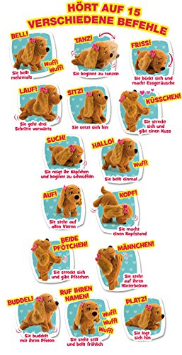 Lucy Dog Toy Commands