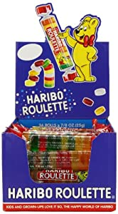 Haribo Roulettes, 7/8 oz. Rolls, 36-Count Box