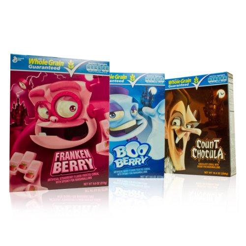 Monster Cereal Trilogy