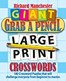Giant Grab a Pencil® Large Print Crosswords