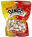 Dingo Rawhide Mini Bones, 35-Count Value Bag