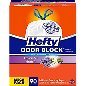 Hefty 90-Count 13-Gallon Indoor Trash Bags E83590