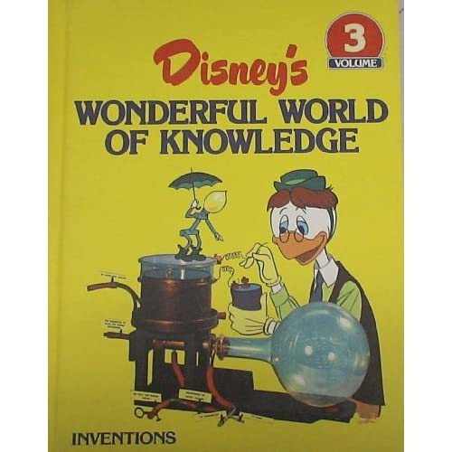 Disney Wonderful World of Knowledge Vol. 3 Inventions / Gyro Gearloose