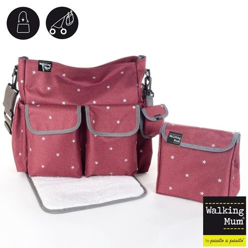 Walking-Mum-Gaby-Winter-Bolsa-canastilla-color-burdeos