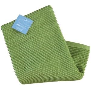 Now Designs Ripple Towel Leaf Green Dish Towels