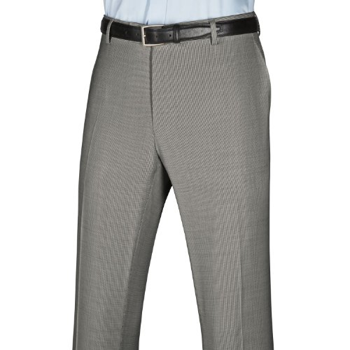 Charles Tyrwhitt Puppytooth luxury classic fit suit trousers (34W x 32L)