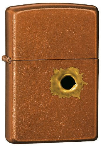 Zippo Bullet Hole Pocket Lighter
