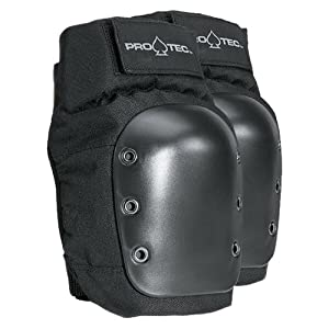 Protec Black Street Knee Pad (Medium)