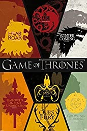 1 X Game of Thrones Poster 24x36in All House Sigils! by Imaginus Posters