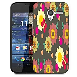 Snoogg Multicolor Pattern Designer Protective Phone Back Case Cover For Moto X / Motorola X