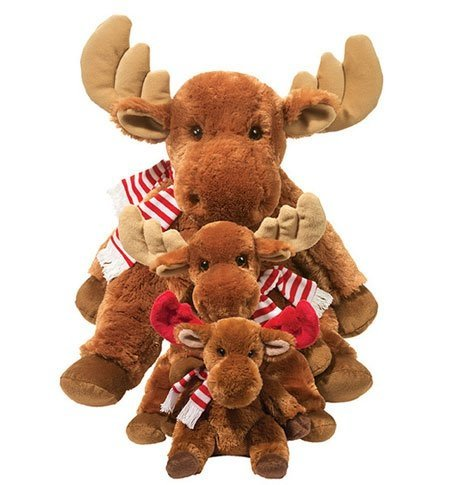 minty-moose-pudgie-large-with-scarf-by-douglas-cuddle-toys-1859c-by-douglas-cuddle-toys