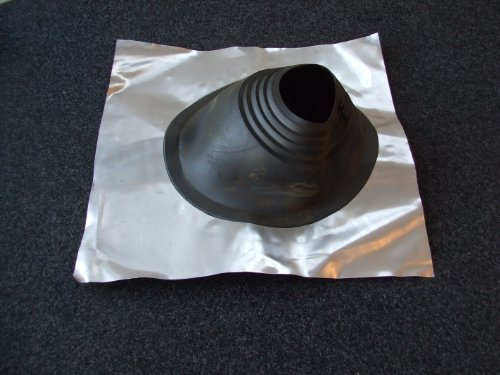 203mm-to-280mm-8-to-11-diameter-black-residential-roof-flashing-chimney-flue-liner-ducting