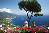 Poster 60 x 40 cm: Ravello amalfi coast Italy by Mayday74 - high quality art print, new art poster