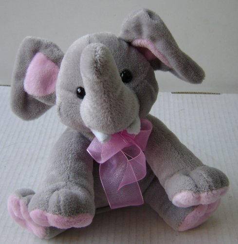 Baby Elephant Stuffed Animal Plush Toy - 7 inches tall