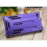 INNOVATIVE CASES ARACHNOPHOBIA PURPLE ALUMINIUM PROTECTIVE CASE + FREE LCD SCREEN PROTECTOR