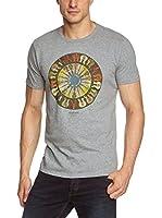Ben Sherman Camiseta Manga Corta Target Guitar (Gris)