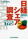日経シェア調査195〈2012年版〉
