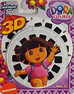ViewMaster 3D Reels - Dora the Explorer 3-pack set