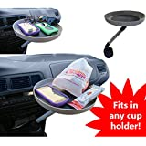 Automobile Swivel Tray Car Truck Van Food Phone Snacks Electronics Cup Holder